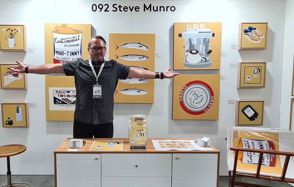 Creating and minting NFT art with artist Steve Munro